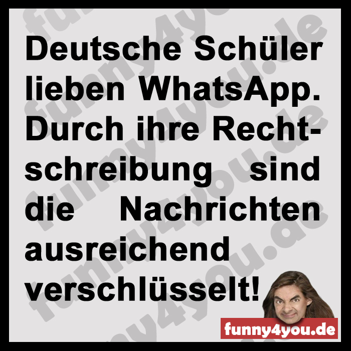 Funny Spruch - whats app